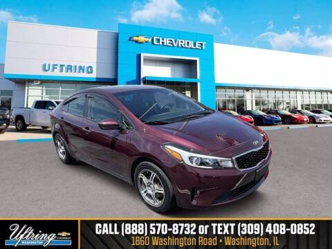 2017 Kia Forte for sale at Gary Uftring's Used Car Outlet in Washington IL