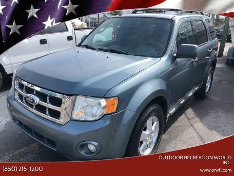2010 Ford Escape for sale at Outdoor Recreation World Inc. in Panama City FL