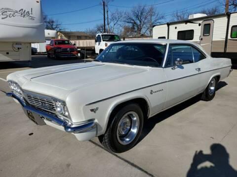 1966 Chevrolet Impala 2 Door Hardtop for sale at Kell Auto Sales, Inc - Grace Street in Wichita Falls TX