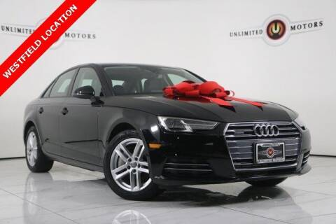 2017 Audi A4 for sale at INDY'S UNLIMITED MOTORS - UNLIMITED MOTORS in Westfield IN