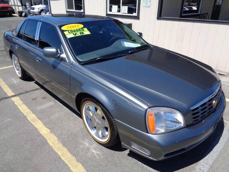 2005 Cadillac DeVille for sale at BBL Auto Sales in Yakima WA