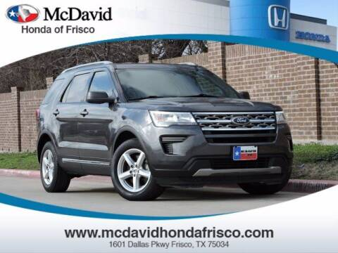 2018 Ford Explorer for sale at DAVID McDAVID HONDA OF IRVING in Irving TX