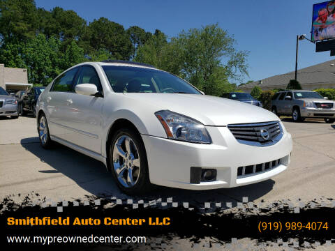 2008 Nissan Maxima for sale at Smithfield Auto Center LLC in Smithfield NC