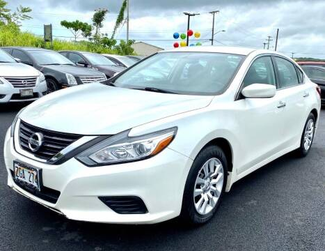 2017 Nissan Altima for sale at PONO'S USED CARS in Hilo HI