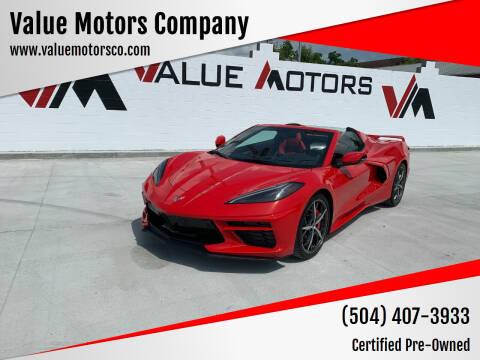 2020 Chevrolet Corvette for sale at Value Motors Company in Marrero LA