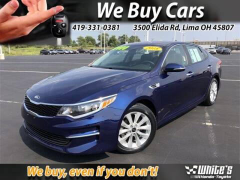 2018 Kia Optima for sale at White's Honda Toyota of Lima in Lima OH