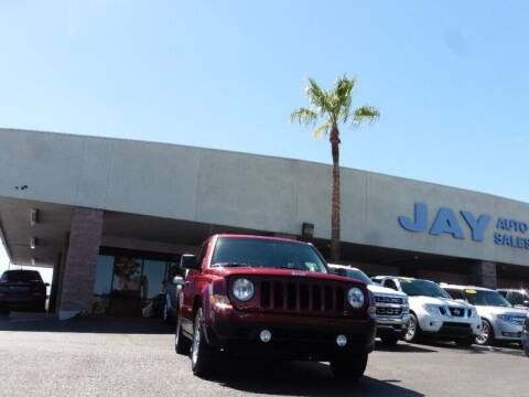 2016 Jeep Patriot for sale at Jay Auto Sales in Tucson AZ