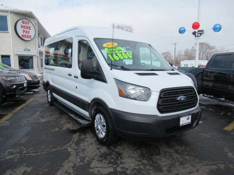 2016 Ford Transit Passenger for sale at Auto Land Inc in Crest Hill IL