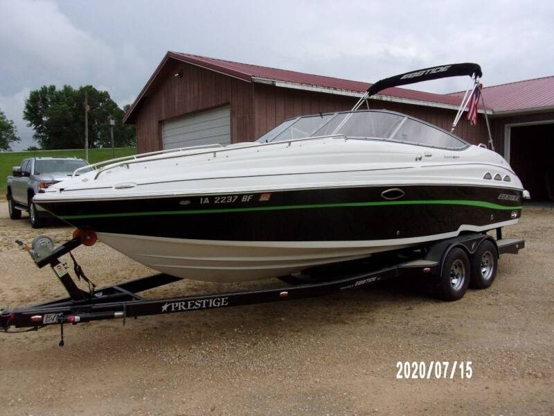 2008 Ebbtide 2440 BR SS Z-Track for sale at Toy Flip LLC in Cascade IA