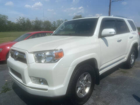 2013 Toyota 4Runner for sale at EAGLE ONE AUTO SALES in Leesburg OH