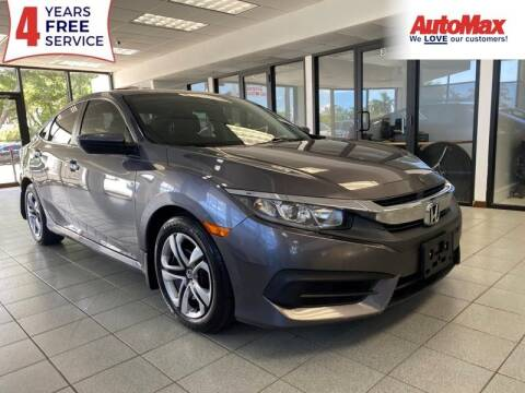 2016 Honda Civic for sale at Auto Max - Rentals in Hollywood FL