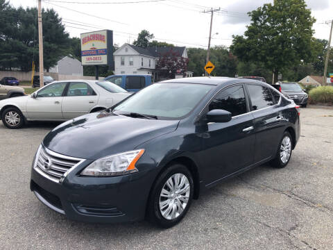 2013 Nissan Sentra for sale at Beachside Motors, Inc. in Ludlow MA