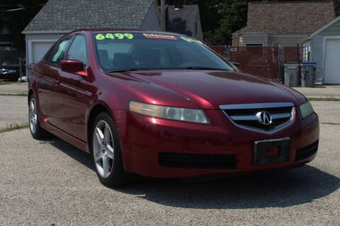 2004 Acura TL for sale at Square Business Automotive in Milwaukee WI