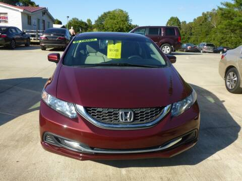 2014 Honda Civic for sale at Ed Steibel Imports in Shelby NC