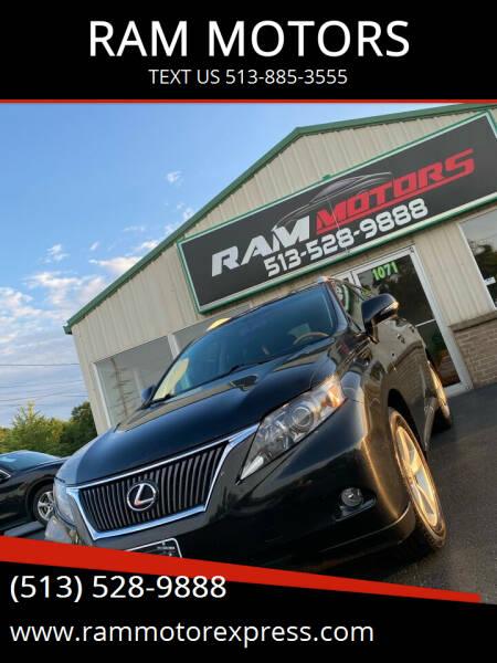 2011 Lexus RX 350 for sale at RAM MOTORS in Cincinnati OH
