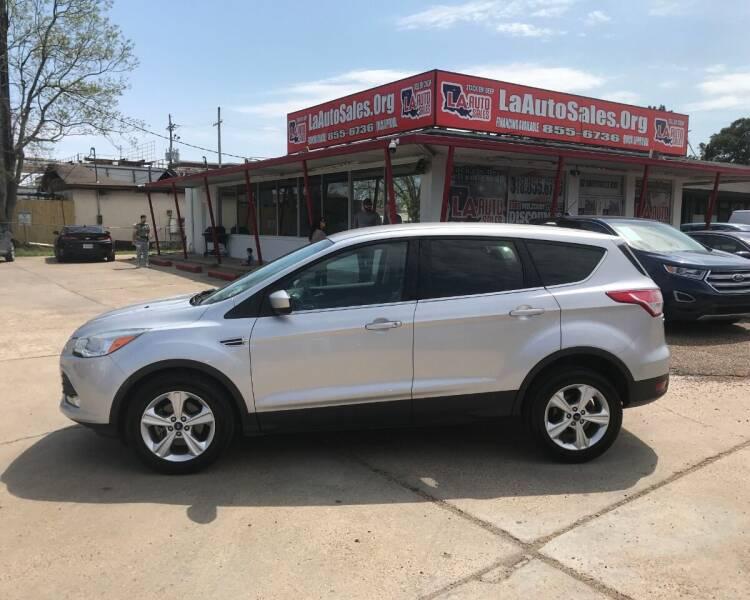 2014 Ford Escape for sale at LA Auto Sales in Monroe LA