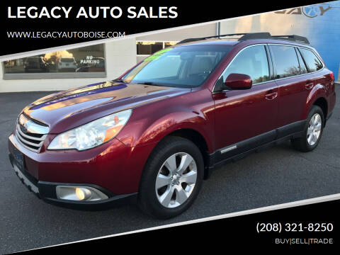 2011 Subaru Outback for sale at LEGACY AUTO SALES in Boise ID