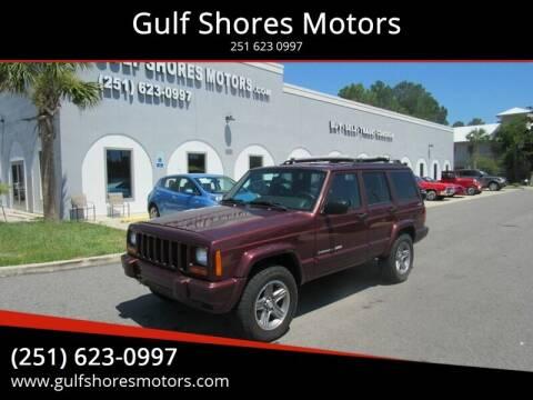 2000 Jeep Cherokee for sale at Gulf Shores Motors in Gulf Shores AL