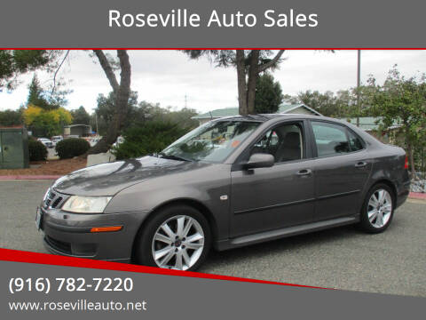 2007 Saab 9-3 for sale at Roseville Auto Sales in Roseville CA