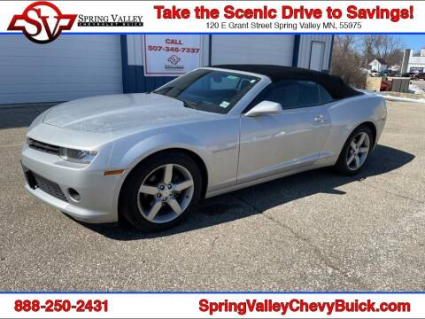 2014 Chevrolet Camaro for sale at Spring Valley Chevrolet Buick in Spring Valley MN