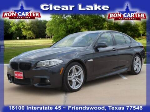 2013 BMW 5 Series for sale at Ron Carter  Clear Lake Used Cars in Houston TX