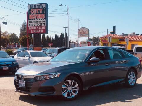 2019 Honda Accord for sale at City Motors in Hayward CA