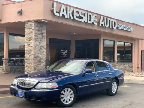2007 Lincoln Town Car for sale at Lakeside Auto Brokers in Colorado Springs CO