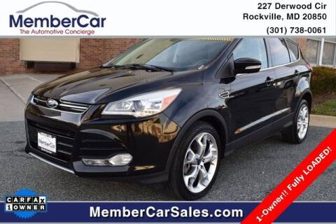 2013 Ford Escape for sale at MemberCar in Rockville MD