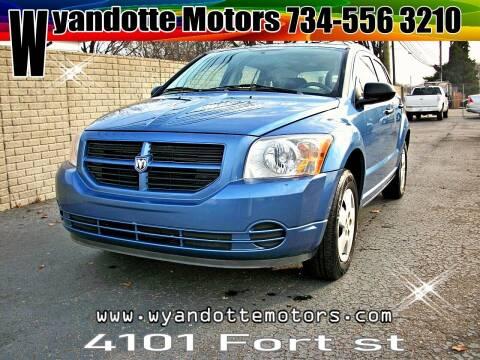 2007 Dodge Caliber for sale at Wyandotte Motors in Wyandotte MI