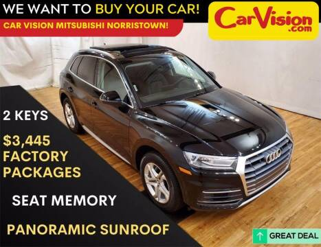 2019 Audi Q5 for sale at Car Vision Mitsubishi Norristown in Trooper PA