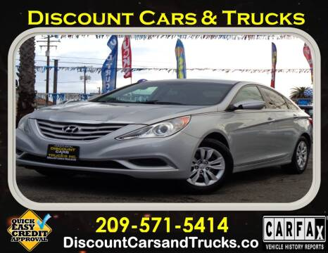 2011 Hyundai Sonata for sale at Discount Cars & Trucks in Modesto CA