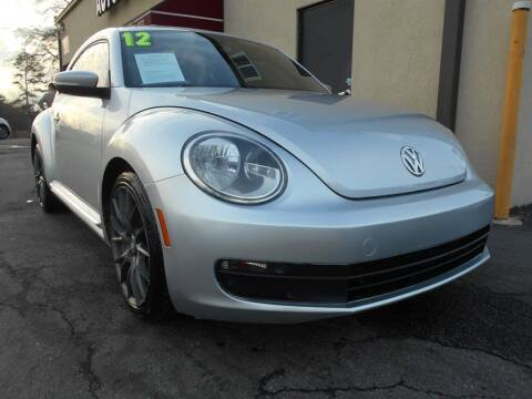 2012 Volkswagen Beetle for sale at AutoStar Norcross in Norcross GA
