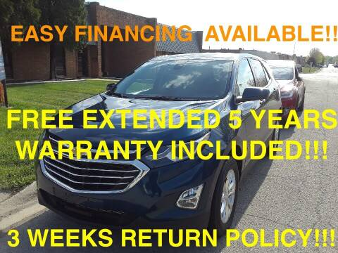 2020 Chevrolet Equinox for sale at Mikes Auto Forum in Bensenville IL