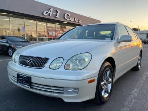 2003 Lexus GS 300 for sale at A1 Carz, Inc in Sacramento CA