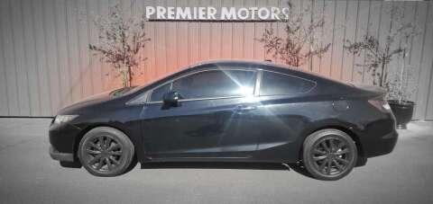 2012 Honda Civic for sale at PREMIERMOTORS  INC. in Milton Freewater OR