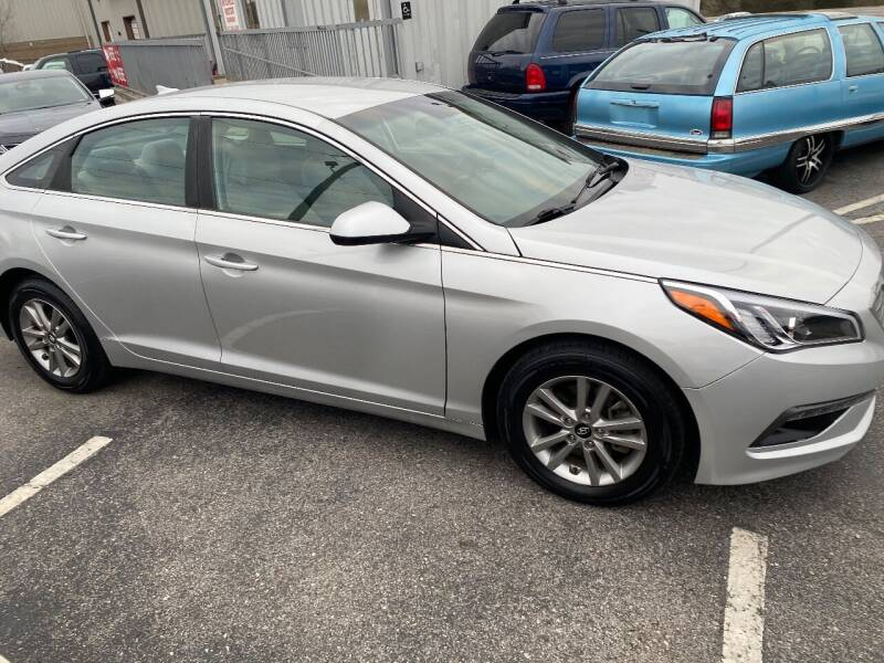 2016 Hyundai Sonata for sale at Mitchell Motor Company in Madison TN