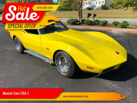 1974 Chevrolet Corvette for sale at Muscle Cars USA 1 in Murrells Inlet SC
