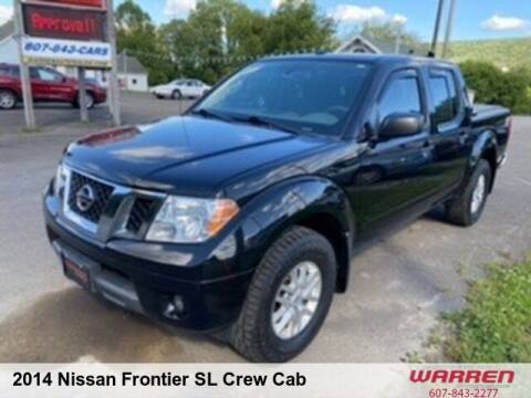 2014 Nissan Frontier for sale at Warren Auto Sales in Oxford NY