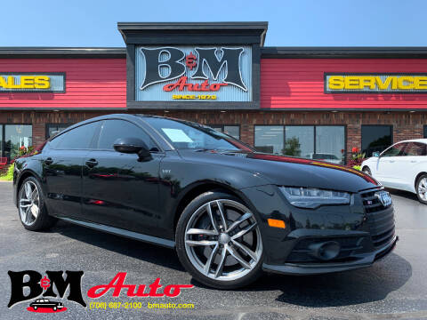 2016 Audi S7 for sale at B & M Auto Sales Inc. in Oak Forest IL