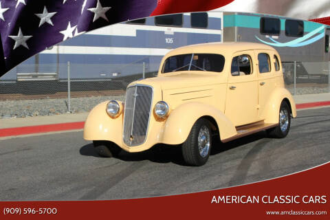 1935 Chevrolet Master Deluxe for sale at American Classic Cars in La Verne CA