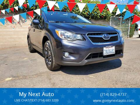2013 Subaru XV Crosstrek for sale at My Next Auto in Anaheim CA