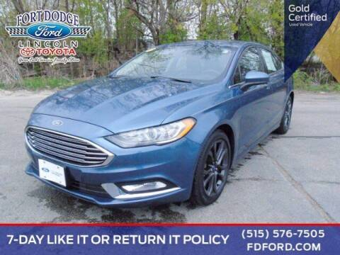 2018 Ford Fusion for sale at Fort Dodge Ford Lincoln Toyota in Fort Dodge IA