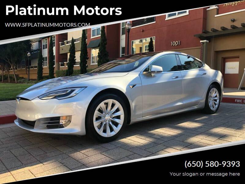 2018 Tesla Model S for sale at Platinum Motors in San Bruno CA