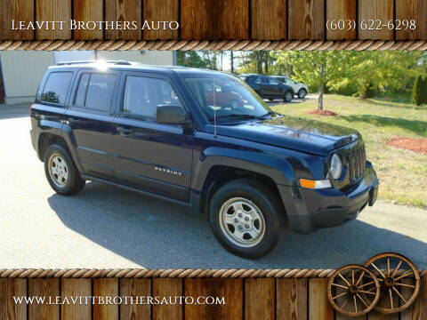 2012 Jeep Patriot for sale at Leavitt Brothers Auto in Hooksett NH