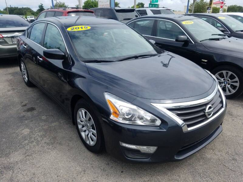 2015 Nissan Altima for sale at P S AUTO ENTERPRISES INC in Miramar FL
