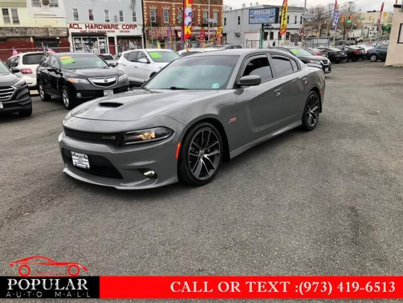 2018 Dodge Charger for sale at Popular Auto Mall Inc in Newark NJ