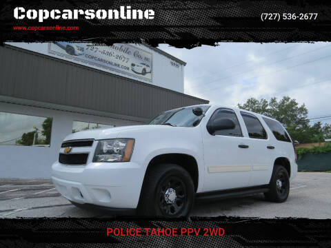2014 Chevrolet Tahoe for sale at Copcarsonline in Largo FL