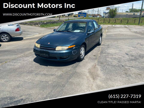 2002 Saturn L-Series for sale at Discount Motors Inc in Nashville TN