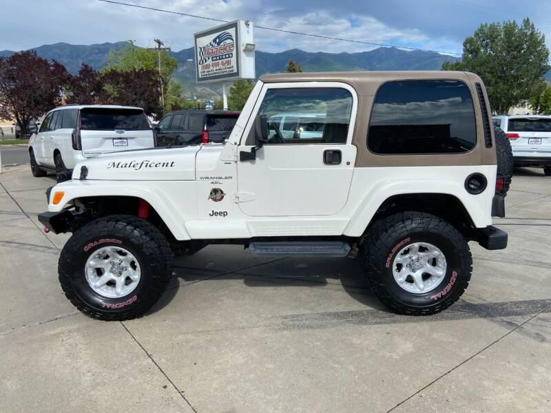 2001 Jeep Wrangler for sale at Haacke Motors in Layton UT