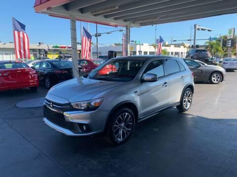 2019 Mitsubishi Outlander Sport for sale at American Auto Sales in Hialeah FL